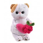 Кошка Ли-Ли с розовым сердечком