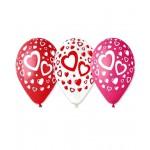 Шар латексный Сердца