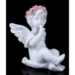 Ангел в венке из роз