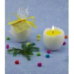 Пасхальная свеча Яйцо с желтком