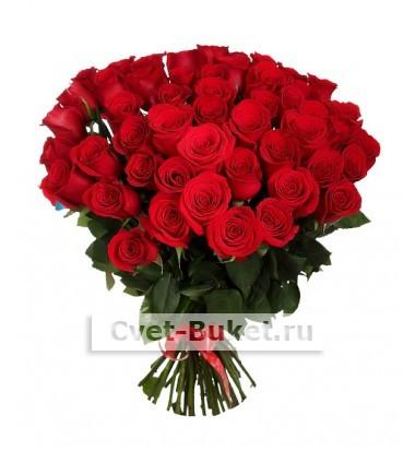 Букет - 51 красная роза