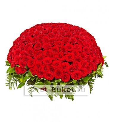 """Корзина - """"201 роза Гранд При"""""""