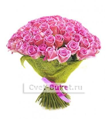 """Букет - """"Аква 101 роза"""""""