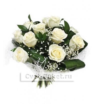 Букет - Нежные розы