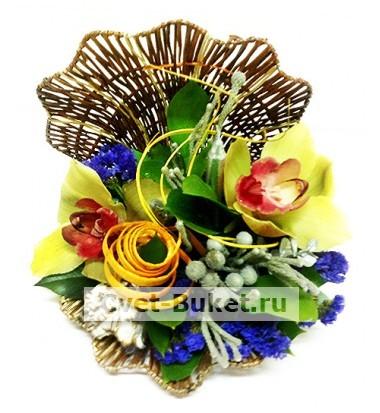 Композиции из цветов - Раковина желаний