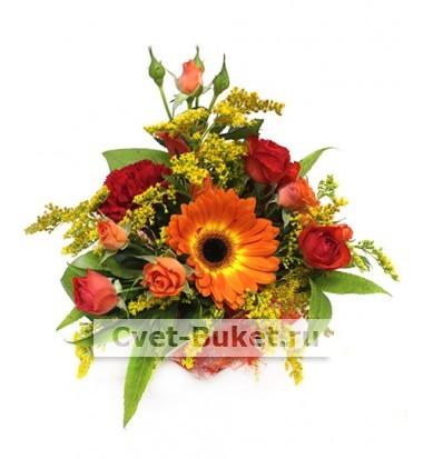 Композиции из цветов - Осенний Джаз