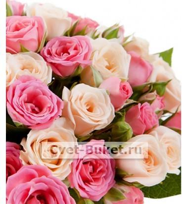 Композиции из цветов - Нежные пожелания