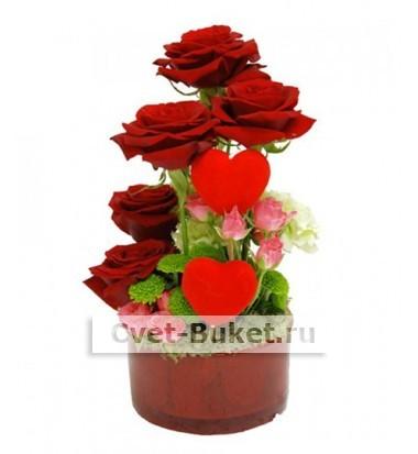 Композиции из цветов - Тонкий вкус