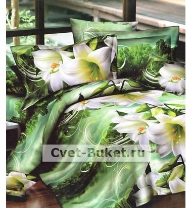 Постельное белье - Лилии -2 сп