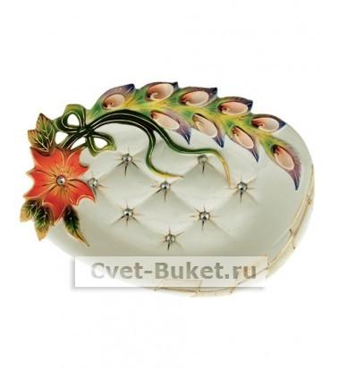 Посуда - Солнечный цветок с ракушками