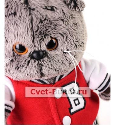 Мягкая игрушка - Кот Басик в клубной куртке
