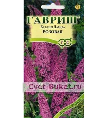 Семена - Будлея давида видовая розовая