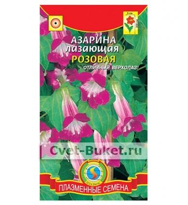 Семена - Азарина лазающая Розовая