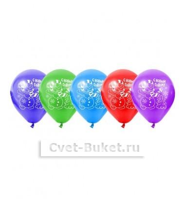 Латексный шар С Новым годом