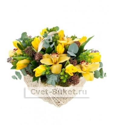 Букет тюльпанов 50